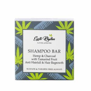 HEMP & CHARCOAL SHAMPOO BAR WITHOUT TIN