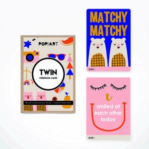 Milestone Cards   Twin