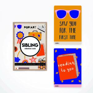 Milestone Cards   Sibling