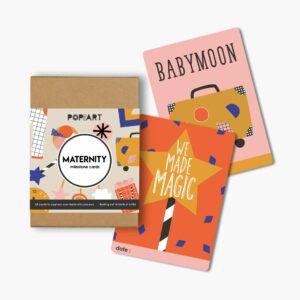 Mini Milestone Cards   Maternity