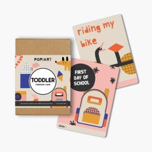 Mini Milestone Cards   Toddler