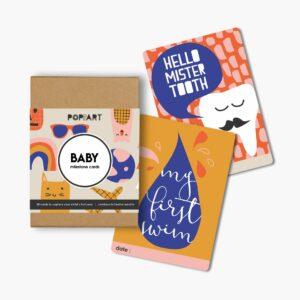 Mini Milestone Cards | Baby