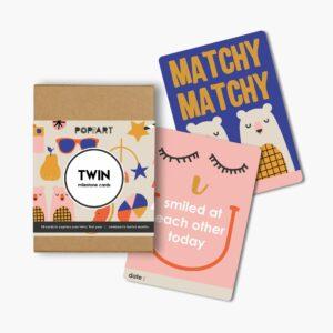 Mini Milestone Cards   Twin