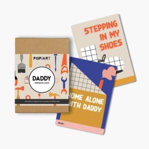 Mini Milestone Cards   Daddy