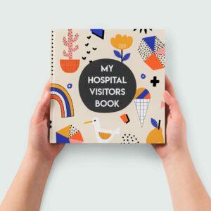 Record Book   My Hospital Visitors Book