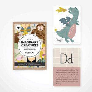 Flash & Fact Cards | Imaginary Creatures