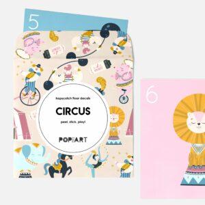 Hopscotch Floor Decals | Circus