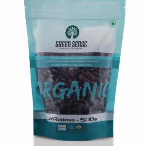 Green Sense Organic Red Kidney Beans (Lal Rajma) - 500g