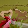 Wooden teether - Bird & Horse