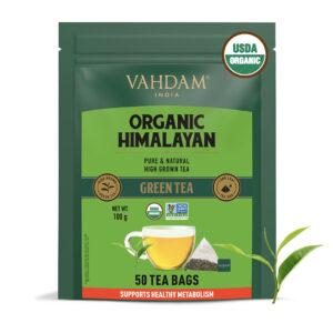 Organic Himalayan Long Leaf Green 50 Tea Bags- Slim Tea