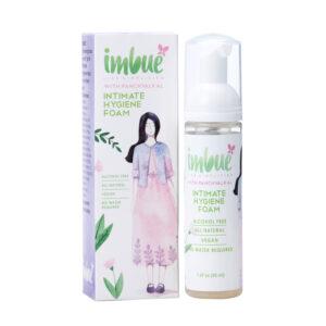 Imbue Natural Intimate Hygiene Vaginal Foam for Women - 50 ml