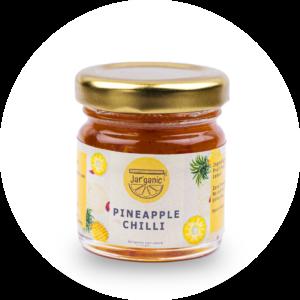 Pineapple Chilli Jaggery Based Jam