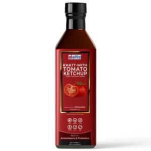 d alive Organic Khatt-Mith Tomato Ketchup - 280g