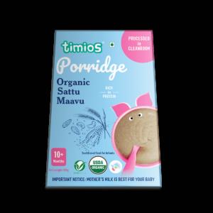 Timios Organic Sattu Maavu Porridge for 10+ Months