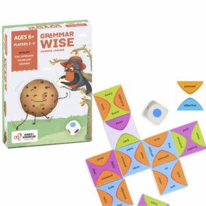 Chalk and Chuckles Grammar Wise-Fun Language Game