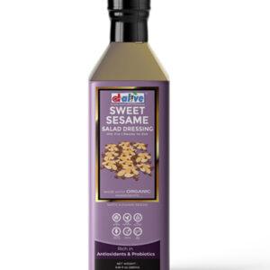 d alive Organic Sweet Sesame Salad Dressing - 270g