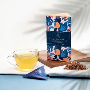 CALM EM NERVES - First Flush Blend | 15 Tea Bags