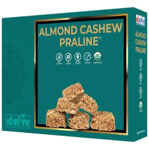 d alive Organic Almond Cashew Praline - 200g