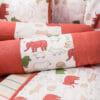 Baby Bedding Set- Red Jumbo