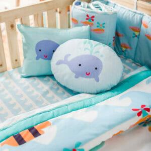 Baby Bedding Set- Under Water Octi