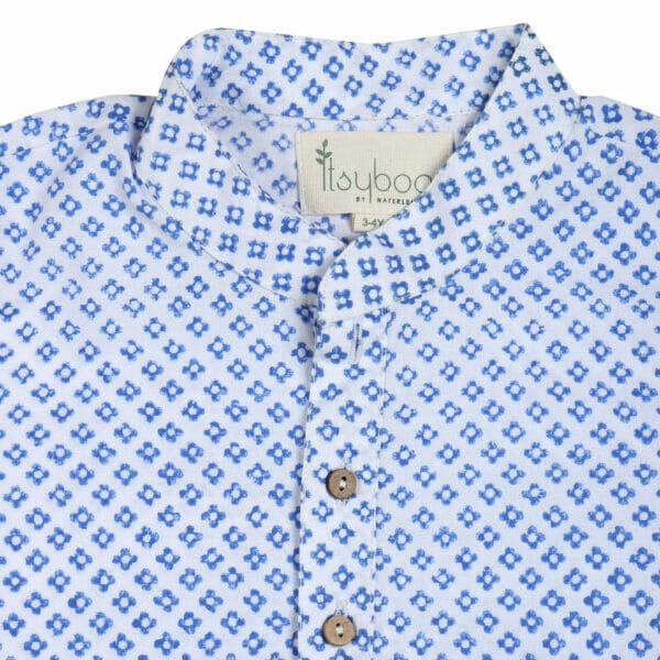 Kurta Pyjama- Blue Block