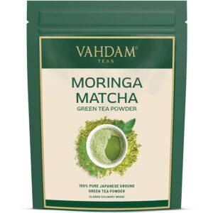 Moringa Matcha Green Tea Powder, Japan Origin - Aids Digestion