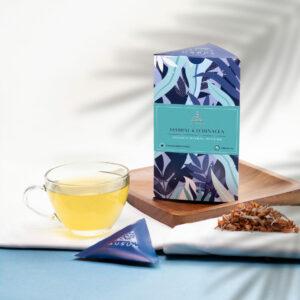 JASMINE AND ECHINACEA - Herbal Tea | 15 Tea Bags