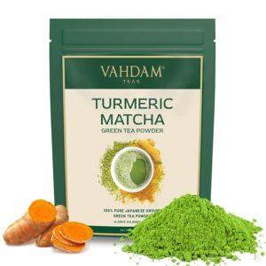 Turmeric Matcha Green Tea Powder, Japan Origin - Skin Glow