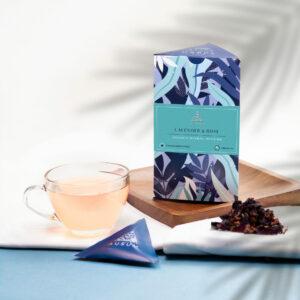 LAVENDER AND ROSE - Herbal Tea   15 Tea Bags