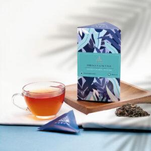 HIBISCUS AND NETTLE - Herbal Tea   15 Tea Bags
