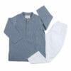 Kurta Pajama- Blue Chambre