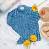Kurta Pajama- Blue Lehriya