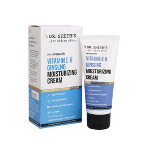 Dr. Sheth's Vitamin E & Ginseng Moisturizing Cream-50g
