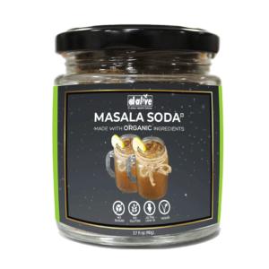 d alive Organic Masala Soda Instant Drink Premix -110 g