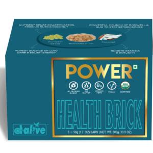 d-alive Organic Health Brick - POWER, 300g