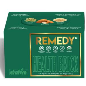 d-alive Organic Health Brick - REMEDY, 300g