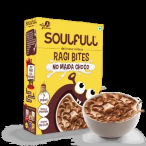 Soulfull Ragi Bites No Maida Choco Pack of 2