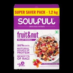 Soulfull Millet Muesli Fruit & Nut 1.2 kg