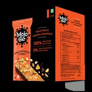 Orange Dark Chocolate + Vitamin C, 480g (Pack of 15)