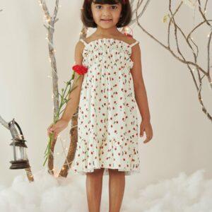 Mila Lady Bird Print Dress