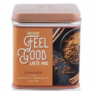 Green Sense Organic Feel Good Latte Mix - Cinnamon - 100g