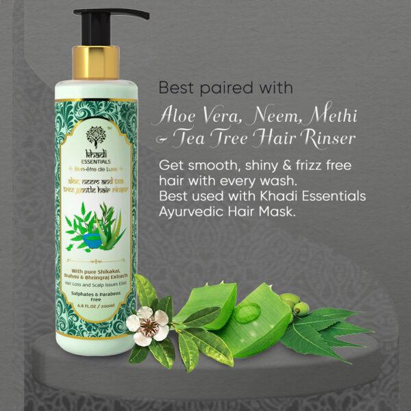 Khadi Essentials Barahmasa-Essential Tranquil & Stress Relief Hair Oil