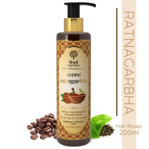 Khadi Essentials Ratnagarbha-Coffee & Red Moroccan Clay Hair Rinser