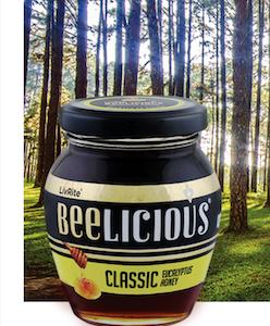 BEELICIOUS Classic Eucalyptus honey - 250g
