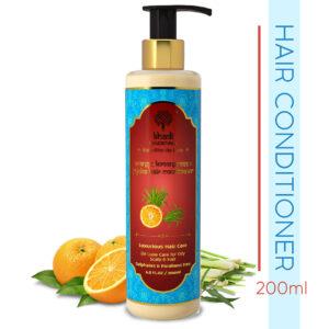 Khadi Essentials Orange, Lemongrass & Jojoba Conditioner with Bhringraj