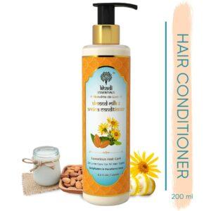 Khadi Essentials Almond Milk & Arnica Conditioner-Luxurious Hair Care