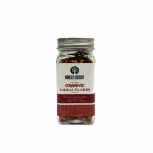 Green Sense Organic Red Chili flakes - 40g