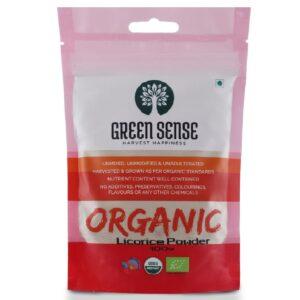 Green Sense Organic Licorice Powder - 100g