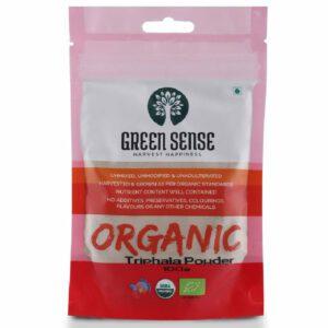 Green Sense Organic Triphala Powder - 100g