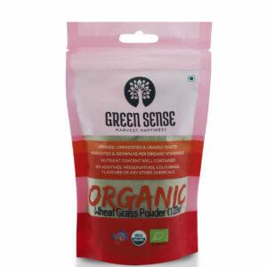 Green Sense Organic Wheat Grass Powder - 100g